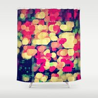 spires Shower Curtains featuring skyrt by Spires