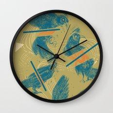 ravens comp Wall Clock