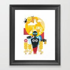 Summer. Framed Art Print