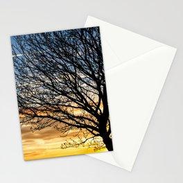 Tree Sunrise 2 Stationery Cards
