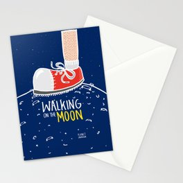 WALKING ON THE MOON 2nd Stationery Cards
