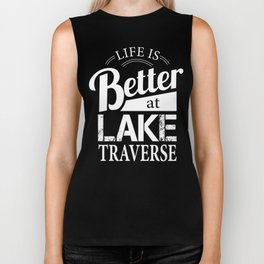 Life is Better Shirt Biker Tank