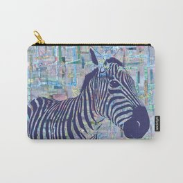 Zoe the Zebra Carry-All Pouch