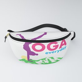 Yoga everyday Fanny Pack