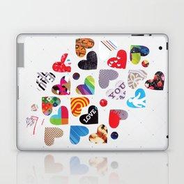 Heart Patterns Laptop & iPad Skin