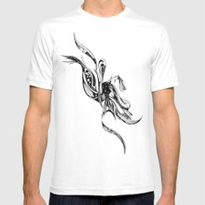 Drift MEDIUM White Mens Fitted Tee