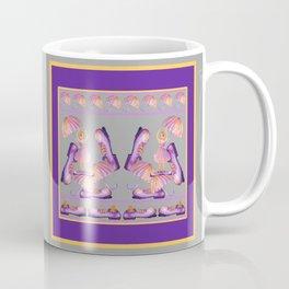 THE CLOWNY BALLERINA Gray Coffee Mug