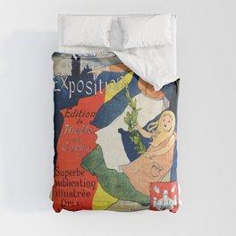 Antwerp art expo 1895 Comforters