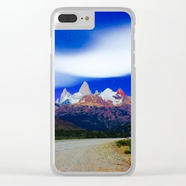 Mt. Fitz Roy Clear iPhone Case