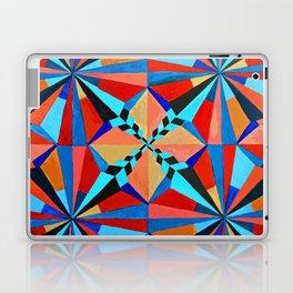 Orange and Blue Symmetry  Laptop & iPad Skin