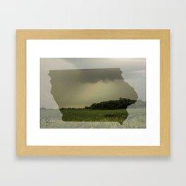 Iowa in Spring Framed Art Print