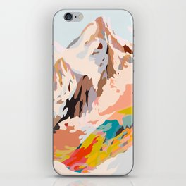 glass mountains iPhone Skin