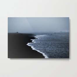 Midnight Sand Metal Print