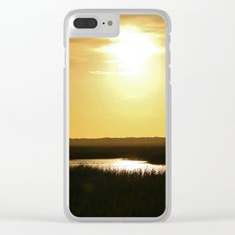 Rays Of Sun Clear iPhone Case