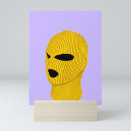Yellow Creep Mini Art Print