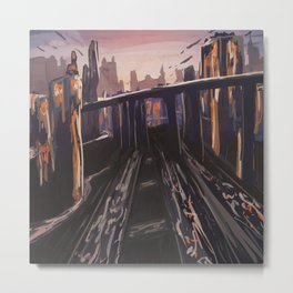 The Morning Commuter Metal Print