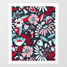 Annabelle Flirt Art Print
