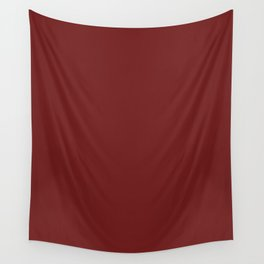 Prune - solid color Wall Tapestry