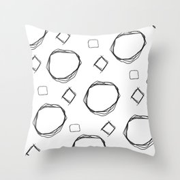 Logik Throw Pillow