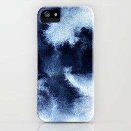 Indigo Nebula iPhone Case