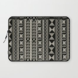 Boho Mud cloth (Black and White) Laptop Sleeve