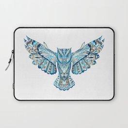 Flying Colorful Owl Design Laptop Sleeve