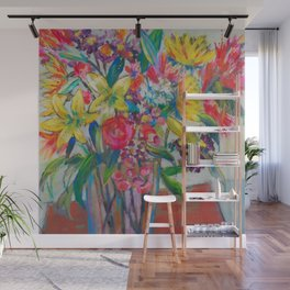 Big Bold Blooms Wall Mural