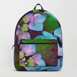 Hydrangea Pink and Blue Backpack