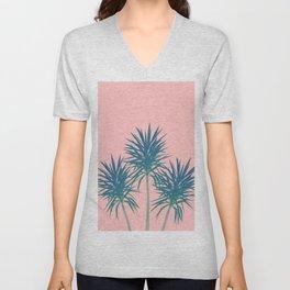 Palm Trees - Cali Summer Vibes #8 #decor #art #society6 Unisex V-Neck