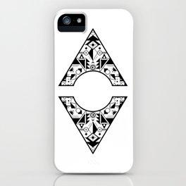Aztec Diamond iPhone Case
