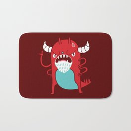 Monster Nagging Bath Mat