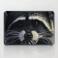 tomb raider iPad Cases featuring Urban raider by Carl Conway