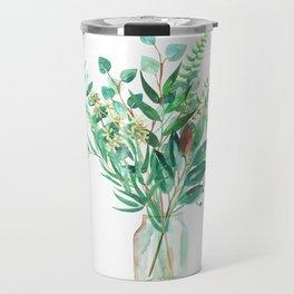 greenery in the jar Travel Mug