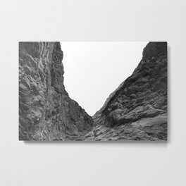 Valley of the Forsaken Metal Print