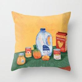 Meals For Success Throw Pillow