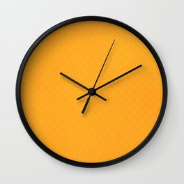 Radiant Yellow Wall Clock