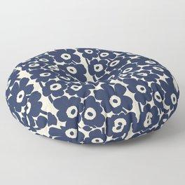 Marimekko This classic, Unikko (poppy) pattern   Floor Pillow