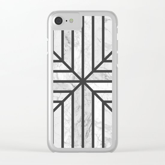 Celebration Stone Clear iPhone Case
