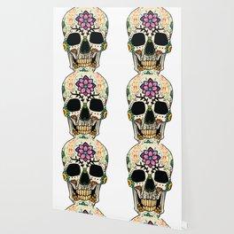 Color Skull Wallpaper