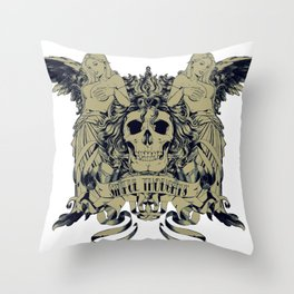 Sinful thoughts  Throw Pillow