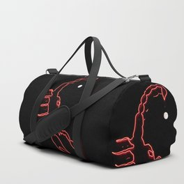 Scorpion and the moon Duffle Bag
