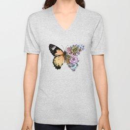 Butterfly in Bloom II Unisex V-Neck