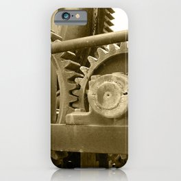 Heavy machinery iPhone Case