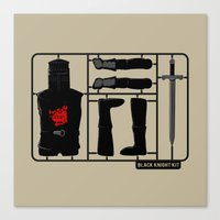 kit king Canvas Prints featuring Knight kit by le.duc