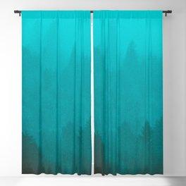 PNW Fog Forest Blackout Curtain