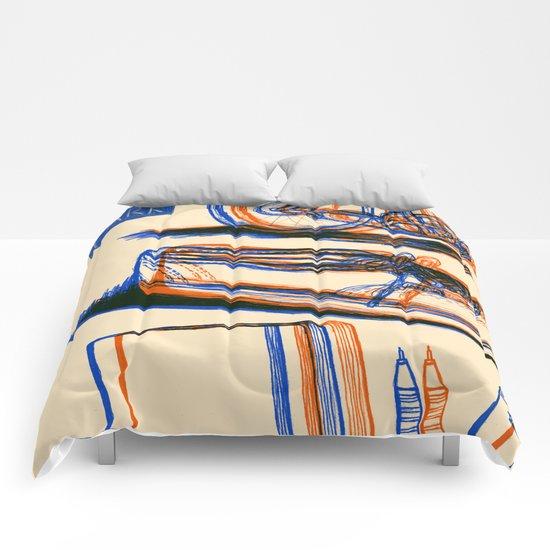 Sketchin' Comforters
