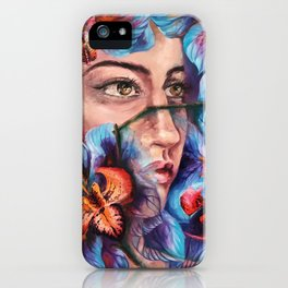 """Dauntless"" Painting iPhone Case"