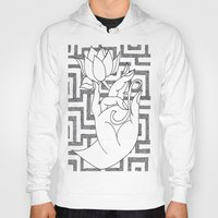 spiritual Hoodies featuring spiritual power by Dal Sohal