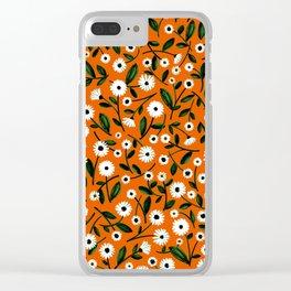 Daisy by Veronique de Jong Clear iPhone Case