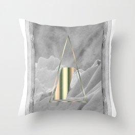 AURORA POLARIS#02 Throw Pillow